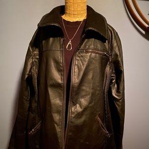 BOGO 🔥 Faux Leather Coat